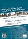 Becas Atlantic Copper (UHU) 2014-2015